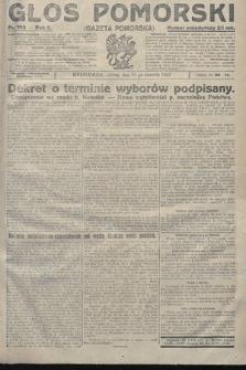 Głos Pomorski. 1922, nr193
