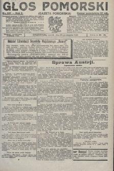 Głos Pomorski. 1922, nr201