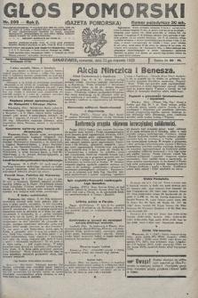 Głos Pomorski. 1922, nr203