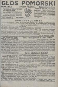 Głos Pomorski. 1922, nr204