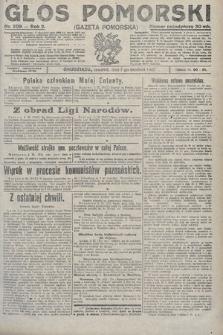 Głos Pomorski. 1922, nr209