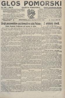 Głos Pomorski. 1922, nr210