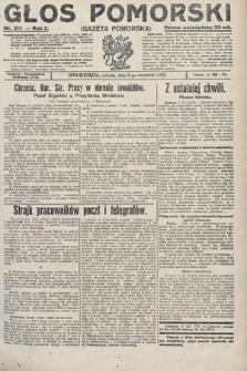 Głos Pomorski. 1922, nr211