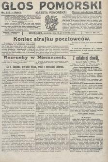 Głos Pomorski. 1922, nr212