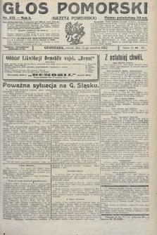 Głos Pomorski. 1922, nr213