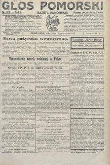 Głos Pomorski. 1922, nr216