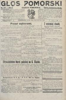 Głos Pomorski. 1922, nr217