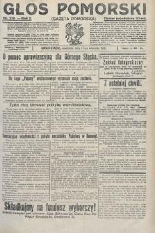 Głos Pomorski. 1922, nr218