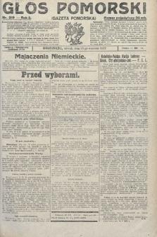 Głos Pomorski. 1922, nr219