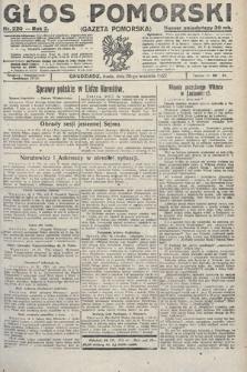 Głos Pomorski. 1922, nr220