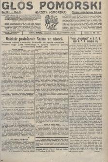 Głos Pomorski. 1922, nr221