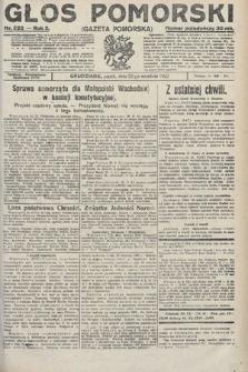 Głos Pomorski. 1922, nr222