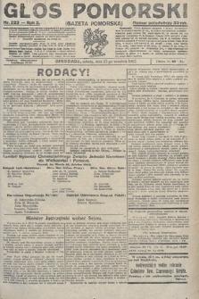 Głos Pomorski. 1922, nr223