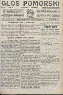 Głos Pomorski. 1922, nr224