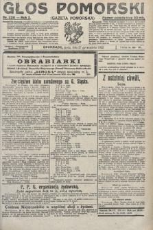 Głos Pomorski. 1922, nr226