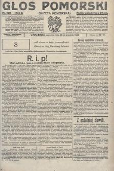 Głos Pomorski. 1922, nr227