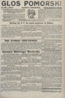 Głos Pomorski. 1922, nr228