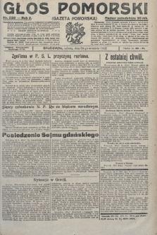 Głos Pomorski. 1922, nr229