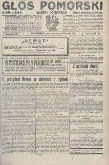Głos Pomorski. 1922, nr232