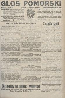 Głos Pomorski. 1922, nr233