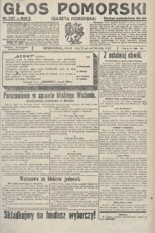 Głos Pomorski. 1922, nr237