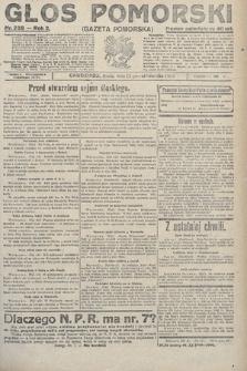 Głos Pomorski. 1922, nr238