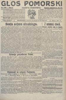 Głos Pomorski. 1922, nr239
