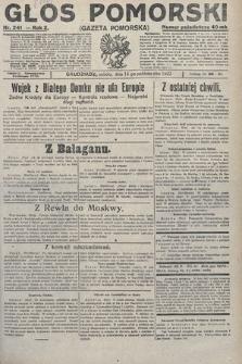 Głos Pomorski. 1922, nr241