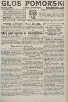 Głos Pomorski. 1922, nr242