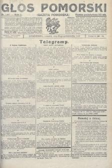 Głos Pomorski. 1922, nr245