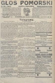 Głos Pomorski. 1922, nr246