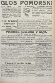 Głos Pomorski. 1922, nr248