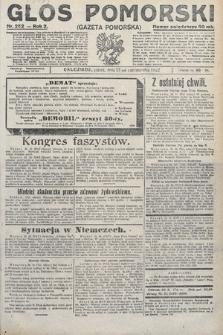 Głos Pomorski. 1922, nr252