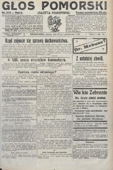 Głos Pomorski. 1922, nr253