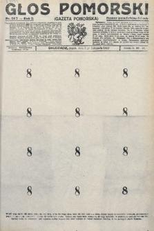 Głos Pomorski. 1922, nr257