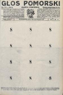 Głos Pomorski. 1922, nr258