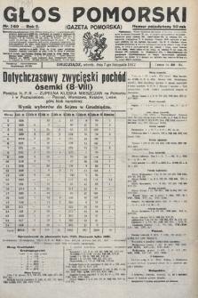 Głos Pomorski. 1922, nr260