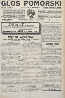 Głos Pomorski. 1922, nr261