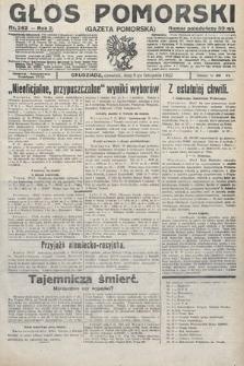 Głos Pomorski. 1922, nr262
