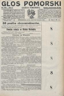 Głos Pomorski. 1922, nr264