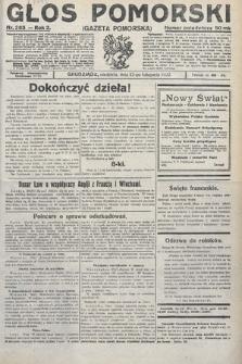 Głos Pomorski. 1922, nr265