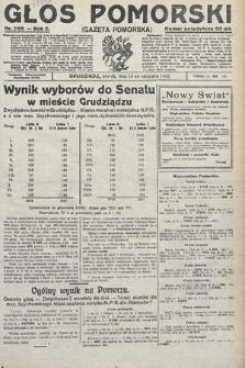Głos Pomorski. 1922, nr266