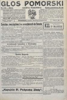Głos Pomorski. 1922, nr268