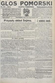 Głos Pomorski. 1922, nr269