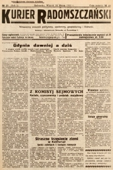 Kurjer Radomszczański : niezależny dziennik polityczny, społeczny iliteracki. 1933, nr32
