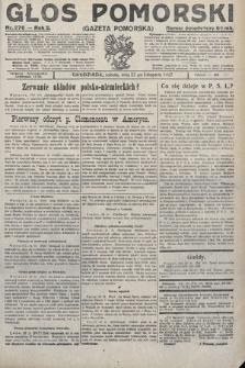 Głos Pomorski. 1922, nr276