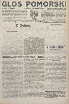 Głos Pomorski. 1922, nr281