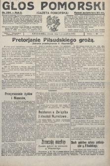 Głos Pomorski. 1922, nr284