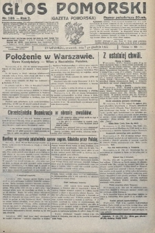 Głos Pomorski. 1922, nr286