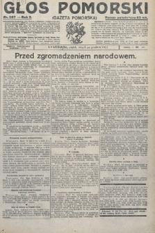 Głos Pomorski. 1922, nr287